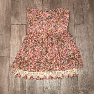 Zara Floral Dress Size L